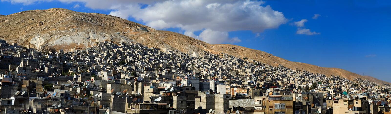 大马士革 库存图片