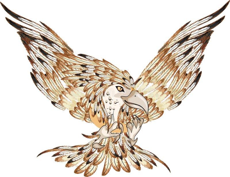 大鸟 向量例证