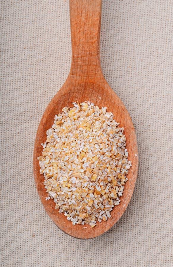 大麦沙粒 库存照片
