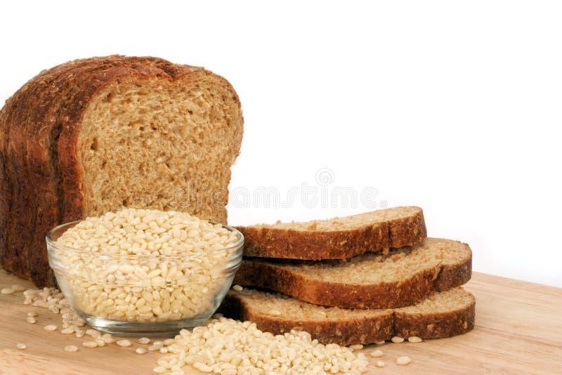 大麦面包 免版税库存照片