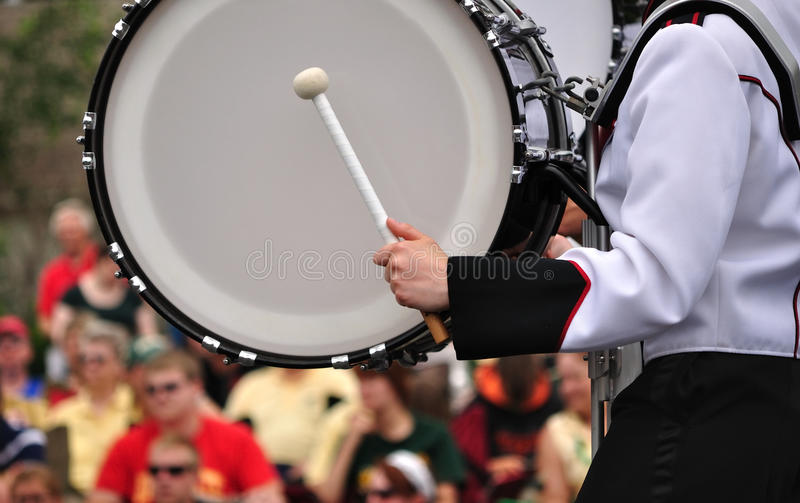 大鼓鼓手游行使用 库存图片