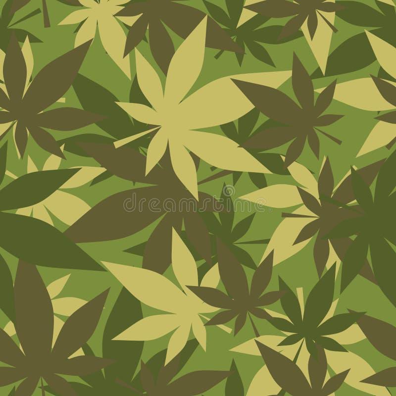 大麻军事纹理  战士伪装大麻 军队se 皇族释放例证