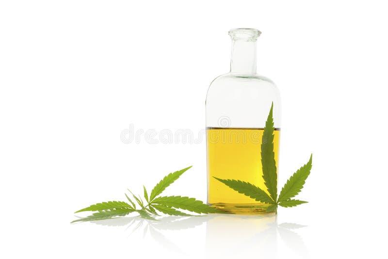 大麻油 免版税库存照片
