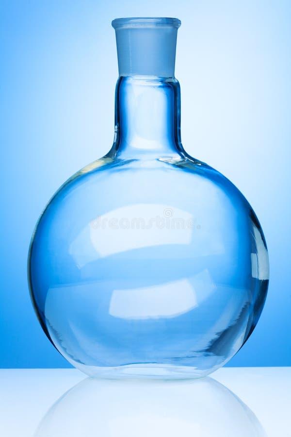 大玻璃烧瓶 库存照片