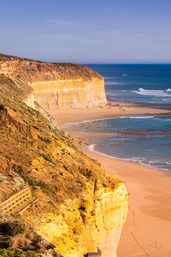 大洋路,澳大利亚惊人的海岸  免版税库存图片