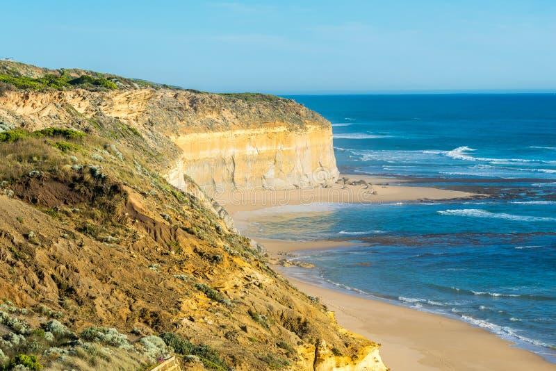 大洋路,澳大利亚惊人的海岸  图库摄影