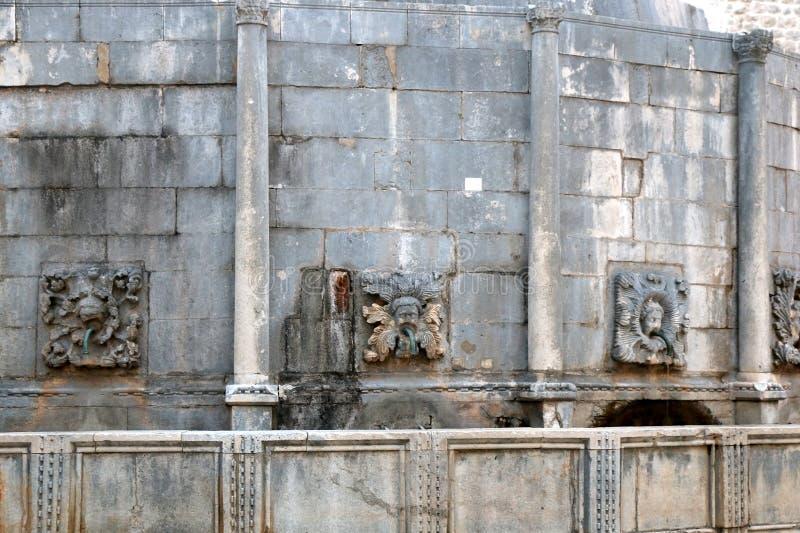 大Onofrio ` s喷泉 免版税库存图片