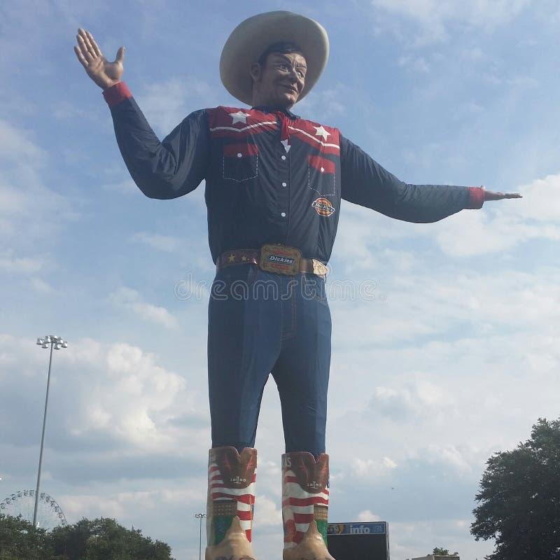 大Tex 大在得克萨斯 免版税库存图片
