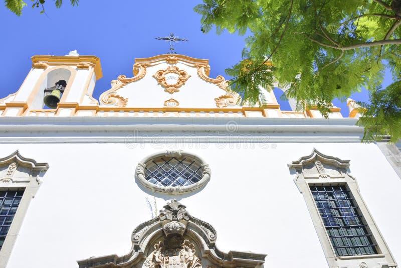 天主教会在Tavira,葡萄牙 免版税库存图片