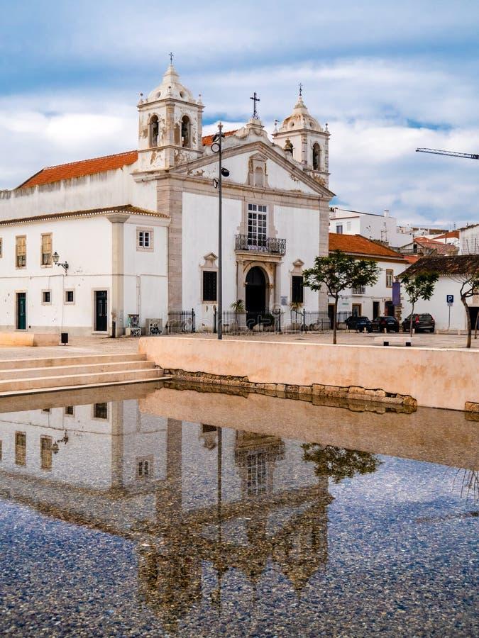 天主教会Igreja de圣玛丽亚 库存图片
