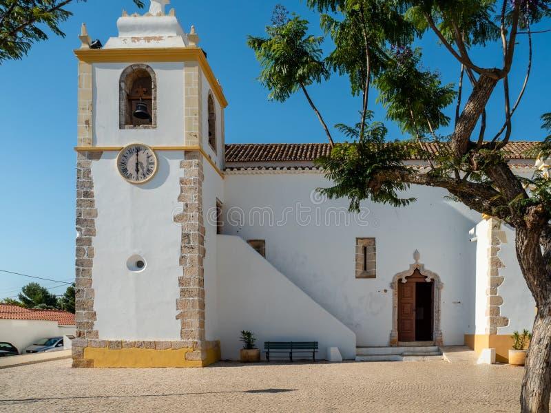 天主教会Matriz de Alvor,葡萄牙 免版税图库摄影