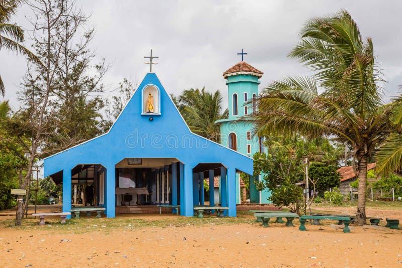 天主教会Negombo斯里兰卡 库存图片