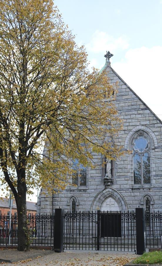 天主教在都伯林 免版税图库摄影