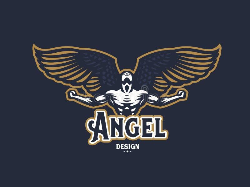 天使人 8个象征eps查出的向量白色 皇族释放例证