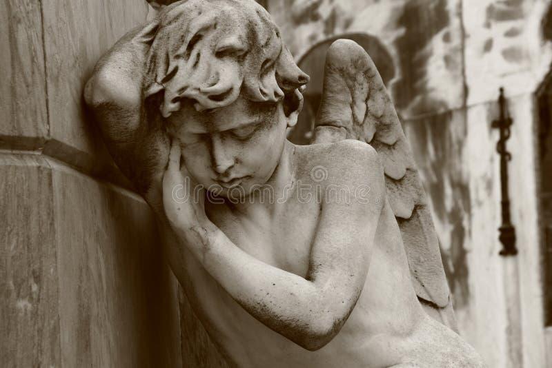 天使休眠 图库摄影