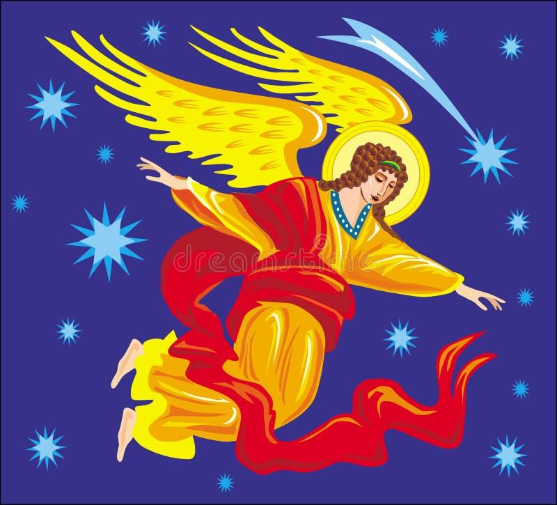 天使例证向量 向量例证