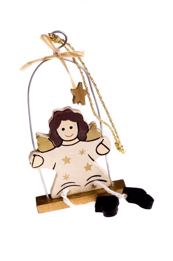 天使圣诞节玩具 免版税图库摄影