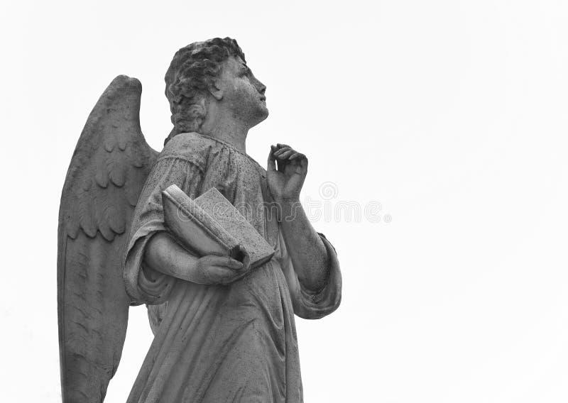 天使在公墓看往天堂 库存照片