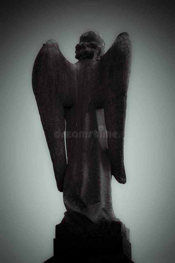 天使坟园 免版税图库摄影