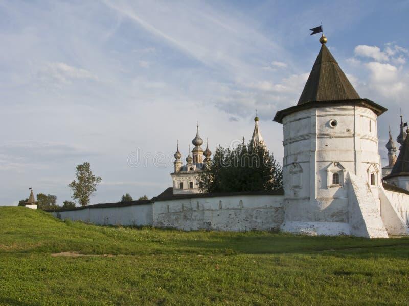 天使城市迈克尔修道院polsky yuryev 免版税库存照片