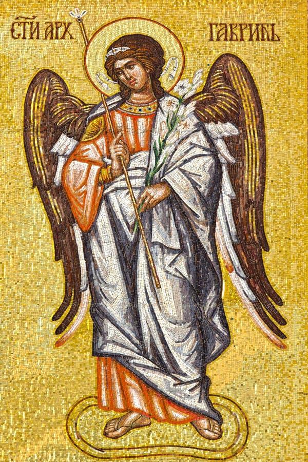 天使基布里埃尔 免版税库存照片