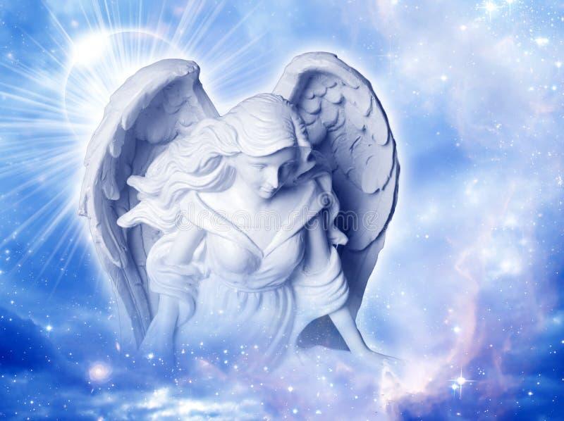 天使基布里埃尔 免版税库存图片