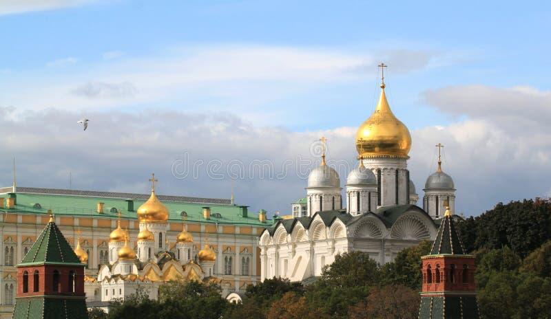 天使大教堂在莫斯科 库存照片