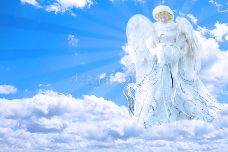 天使天空 免版税库存照片