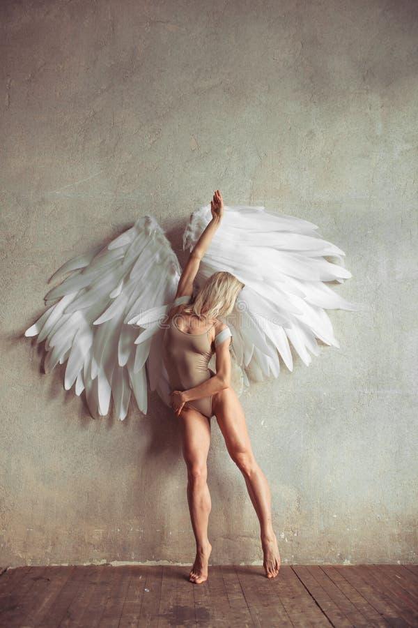 天使妇女 库存照片