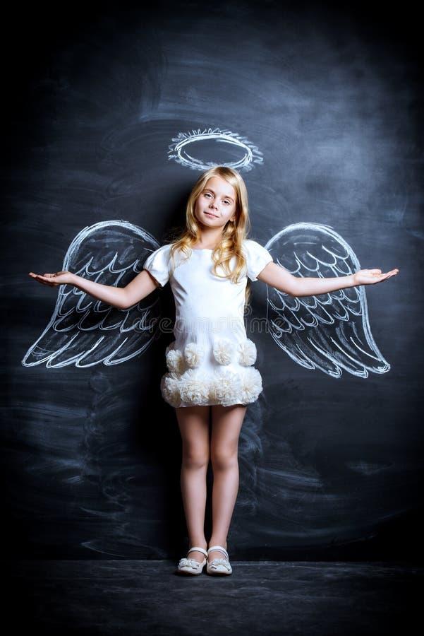 天使子项 库存图片