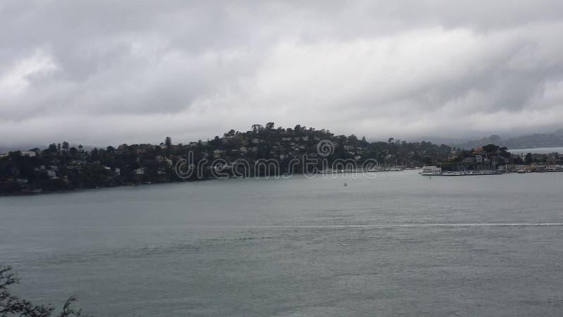 天使岛,加利福尼亚 免版税库存照片