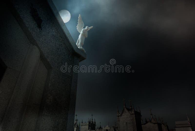 1838年天使布鲁克林墓地日期 库存图片
