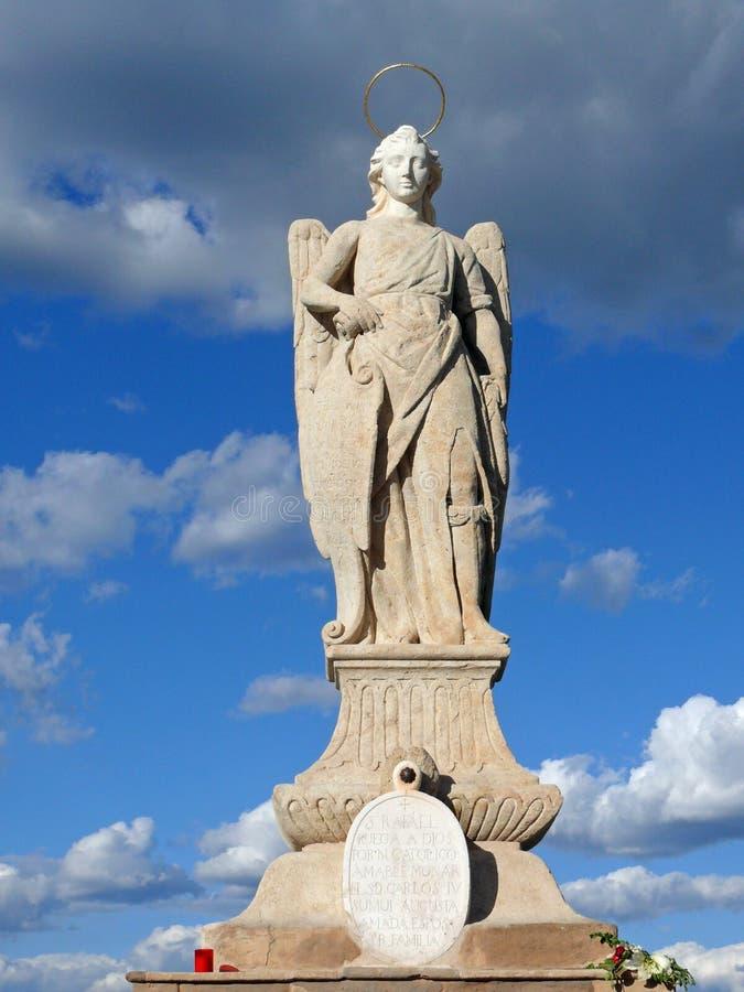 天使拉斐尔 免版税库存图片