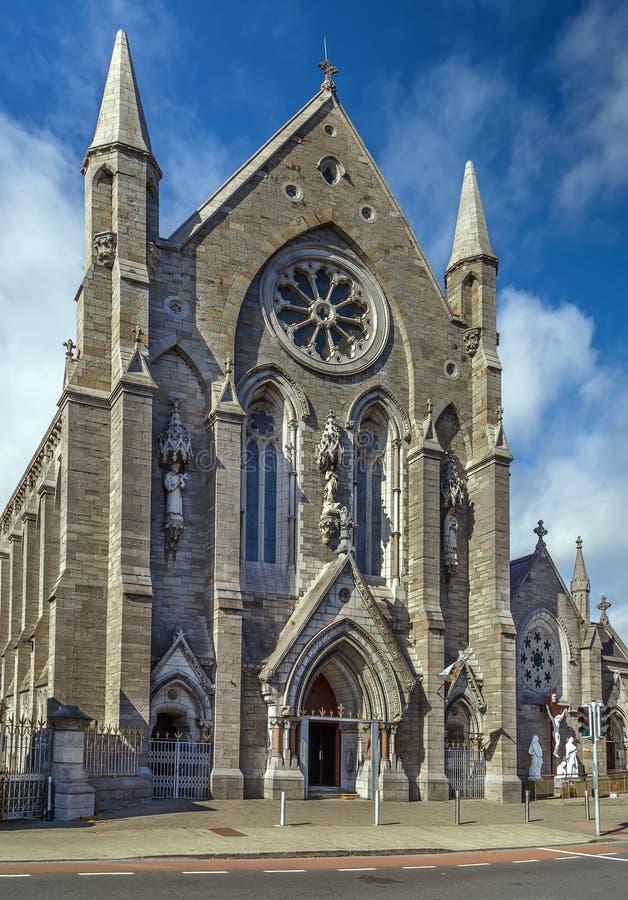 天使教会,都伯林,爱尔兰的圣玛丽 库存图片