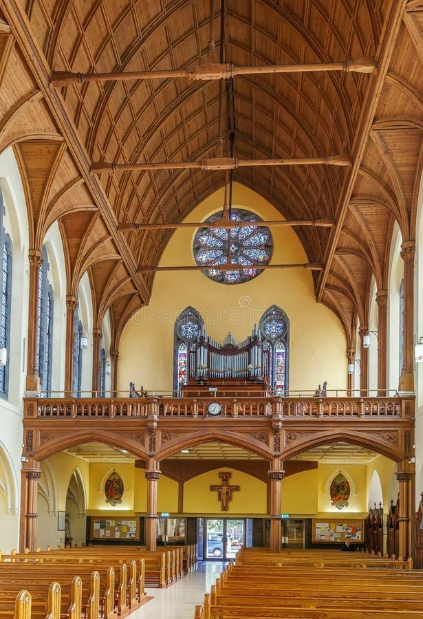天使教会,都伯林,爱尔兰的圣玛丽 库存照片