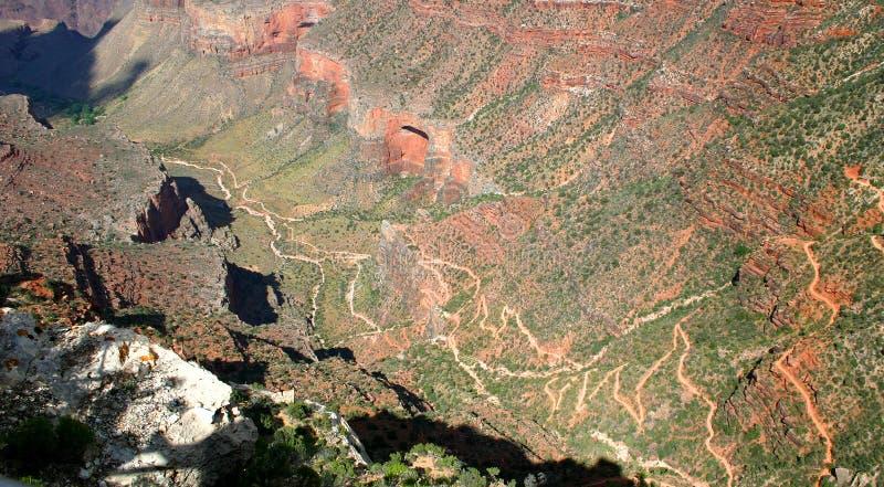 天使明亮的峡谷全部线索 免版税图库摄影