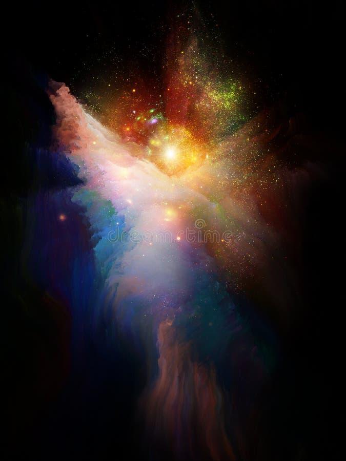 天使星云 库存例证
