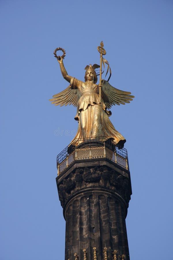 天使柏林符号 免版税图库摄影