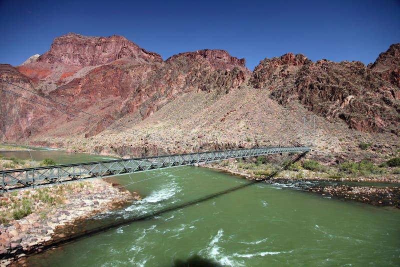 天使桥梁明亮的峡谷全部超出 库存照片