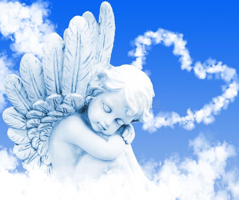 天使梦想 库存图片