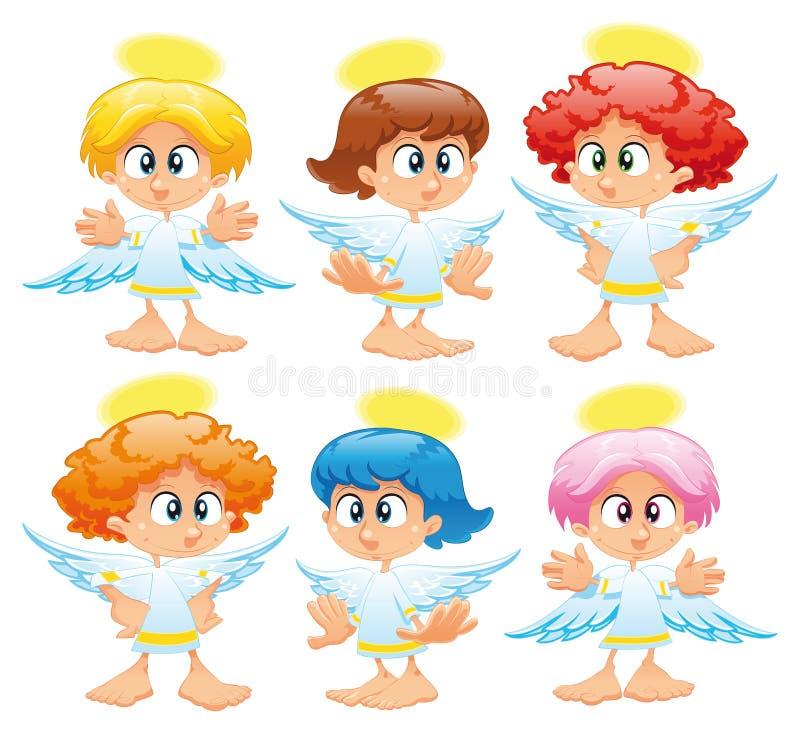 天使系列 皇族释放例证
