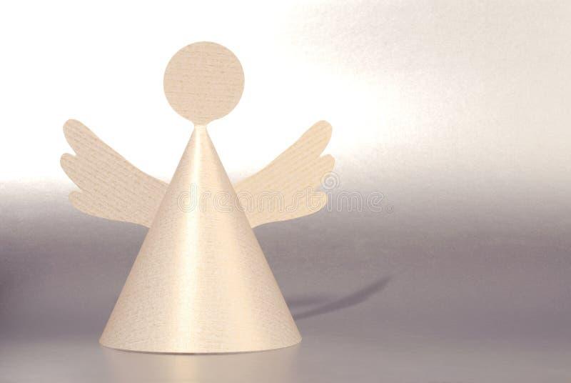 天使纸张 库存照片