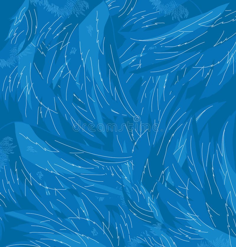 天使翼传染媒介纹理  皇族释放例证