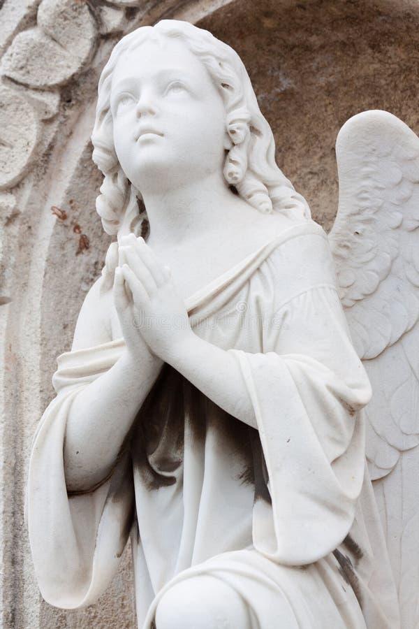 天使老葡萄酒 免版税库存图片