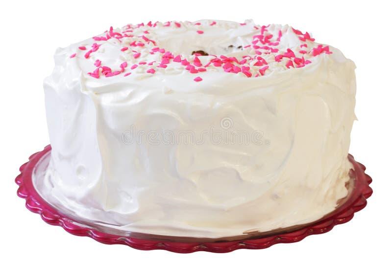 天使蛋糕食物 库存照片