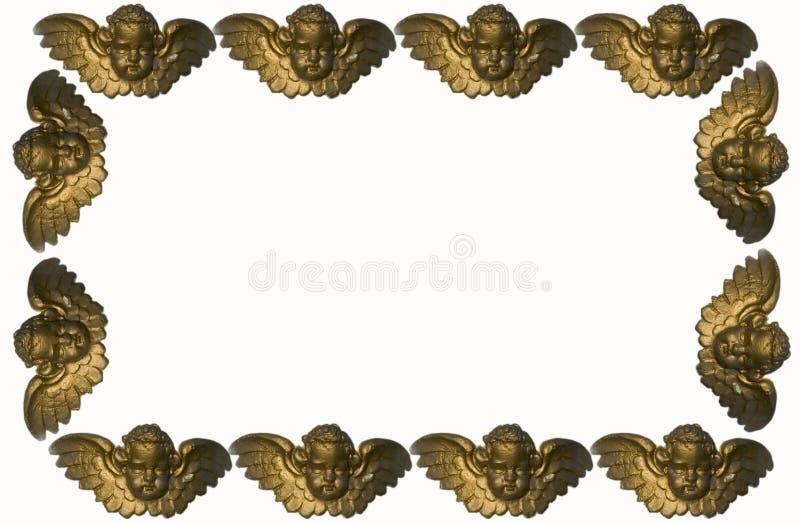 天使边界 免版税库存图片