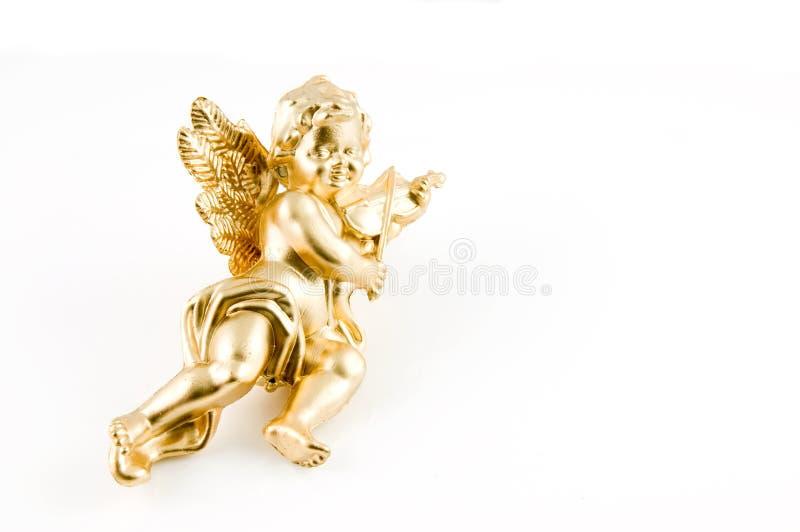 天使金子 免版税库存图片