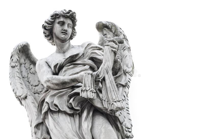 天使雕象 免版税图库摄影