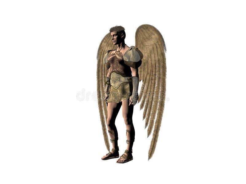 Download 天使 库存例证. 插画 包括有 基督徒, 宗教, 小说, 天使, 超现实, 臂章, 男性, 概念, 背包, 书目 - 189232