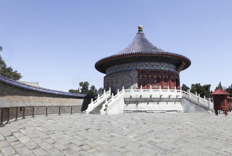 天坛,北京,脊椎 库存照片